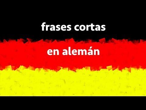 Aprender Alemán: Frases cortas en alemán (imperativo y otras)