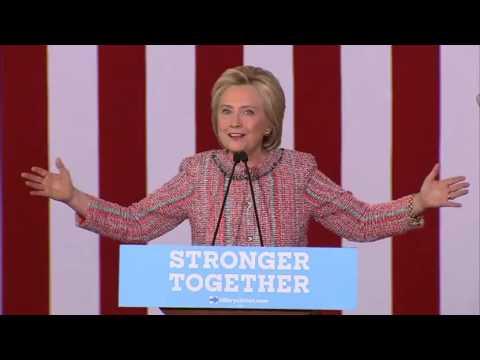 Hillary Clinton full rally in Greensboro North Carolina 9/15/16