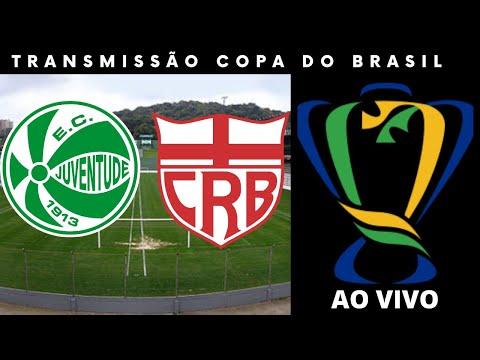 Transmissão Juventude x CRB - Copa do Brasil