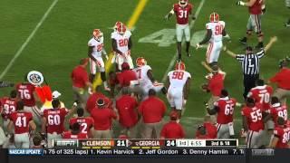 Todd Gurley Georgia Highlights vs Clemson 2014 (Nick Chubb, Sony Michel, Isaiah McKenzie)