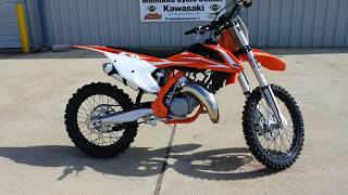 10. $6,999:  2018 KTM 125 SX Overview and Review