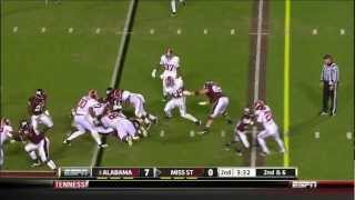 Courtney Upshaw vs Mississippi State