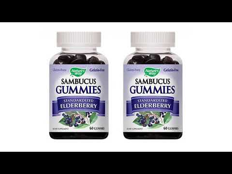 VITAMINS BEST Sellers for AMAZON Must See Review! Nature's Way Original Sambucus Elderberry Syrup..