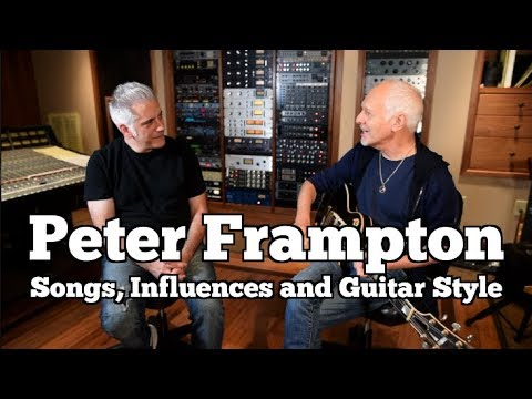 Peter Frampton In Person – His Songs, Influences and Guitar Style