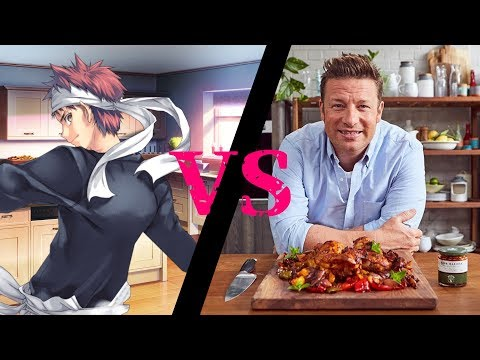 Anime Cooking Vs Real Cooking