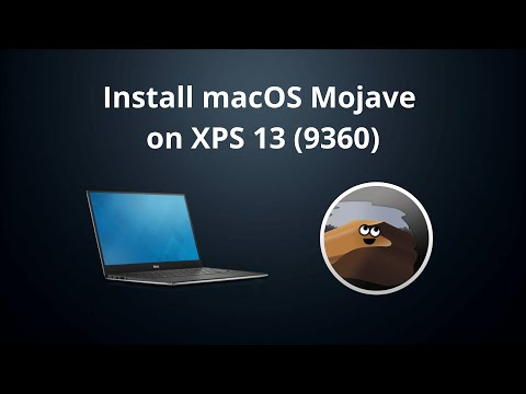 Install macOS Mojave on XPS 13 (9360) (Step-By-Step Hackintosh Guide)