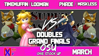 Melee Doubles Grand Finals in Scotland – One Stock Up
