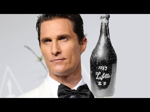 Matthew McConaughey Joins The BILLIONAIRE'S VINEGAR – AMC Movie News