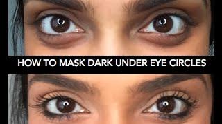 How to Cover Dark Under Eye Circles | Deepica Mutyala