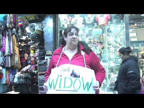 WATCH: Widow Tries To Guilt Strangers Into Giving Her Valentine's Day Flowers