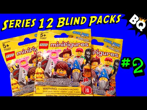 LEGO - LEGO Minifigure Series 12 Mystery Pack Openings Part 2. SUBSCRIBE to BrickQueen: http://bit.ly/1j3VMDo Check out more Minifigure Series videos here: http://bit.ly/1uEaxQ4 Collectible Minifigure...