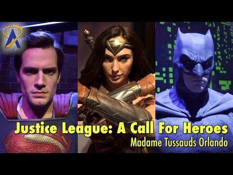 Justice League: A Call For Heroes walkthrough at Madame Tussauds Orlando