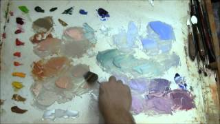 Mixing Flesh Tones for Painting Portraits