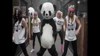 Video PANDA STYLE (gangnam style mashup - Vodka King, Elephant Man, Fr