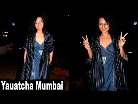 Sonakshi Sinha Spotted At Yauatcha Mumbai