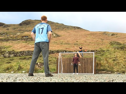 EXTREME Mountain Football Challenges