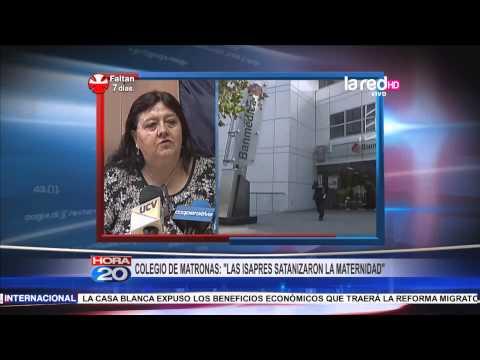 "Colegio de matronas: ""Las isapres satanizaron la maternidad"""