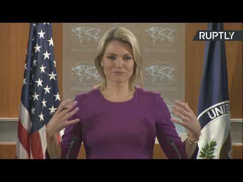 Брифинг официального представителя Госдепа США Хизер Науэрт - DomaVideo.Ru