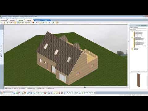 Tutorial complet d'1h30: réaliser un projet de maison bois de A à Z