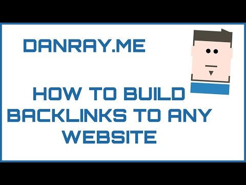 White Hat SEO Training - How To Build White Hat Backlinks To Any Website In 2017