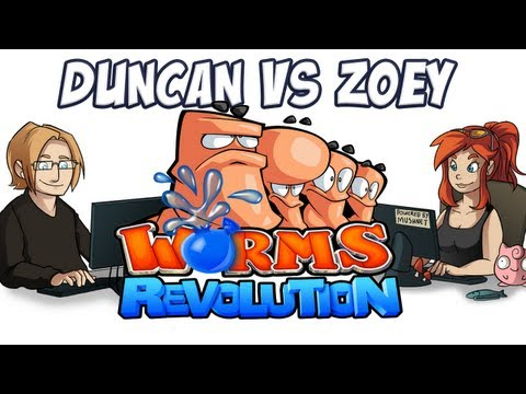 duncan - Duncan takes on Zoey in Worms Revolution! Visit Zoey's channel! http://www.youtube.com/user/ZoeyProasheck Visit me on facebook! http://www.facebook.com/yogsc...