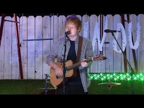 The Fault In Our Stars I Ed Sheeran -- Sing -- Live at The Fault In Our Stars Live Stream Event