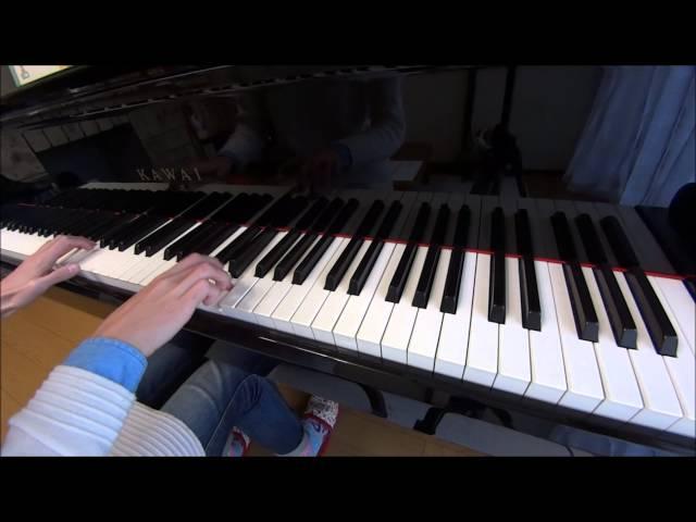 「ジングルベル」(ピアノコード付)をピアノで弾いてみた♪