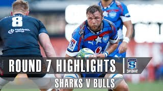 Sharks v Bulls Rd.7 2019 Super rugby video highlights | Super Rugby Video Highlights