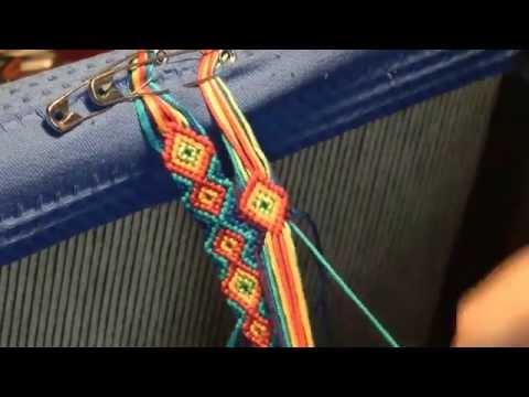 Lust am Knüpfen – 2. Das Anknüpfen – Anleitung für Anfänger – instruction for bracelets