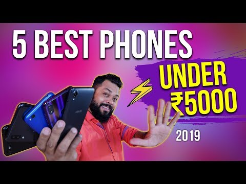 TOP 5 MOBILE PHONES UNDER 5000 BUDGET ⚡⚡⚡ 2019