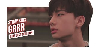 Video Stray Kids - Grrr 총량의 법칙 Line Distribution (Color Coded) | 스트레이 키즈 MP3, 3GP, MP4, WEBM, AVI, FLV Januari 2018