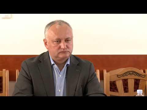 Игорь Додон отправился с рабочим визитом в Кагул и Кантемир