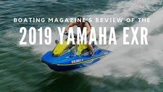 6. Boating Magazine  Boat Buyers Guide  2019 Yamaha EXR