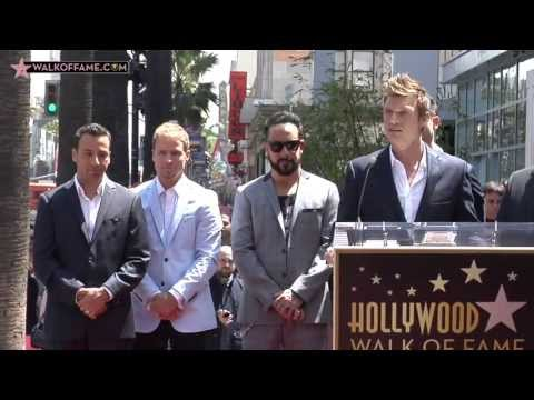 Backstreet Boys Walk of Fame Ceremony