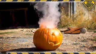 The Most DANGEROUS Way To Carve a Pumpkin by The King of Random