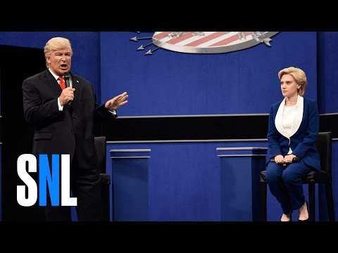 SNL Hilariously Spoofs the Second 2016 Presidential