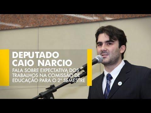 Caio Narcio fala sobre expectativa dos trabalhos na Comissão de Educação para o 2º semestre