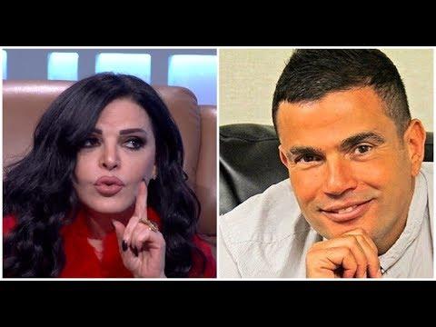 """نضال الأحمدية: عمرو دياب حاقد..ورغب في أن يكون شريكا بـ""""الجرس"""" لكنني رفضت"""