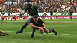South Africa v New Zealand 2nd Test Rugby Championship Video Highlights 2017