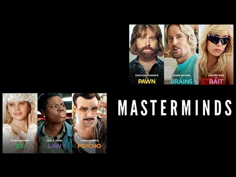 Masterminds | Official Trailer (2016)