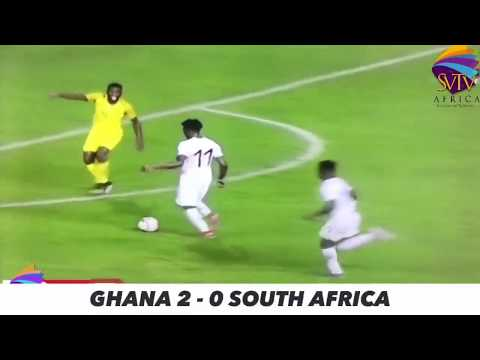 AFCON 2021: Ghana 2 - 0 South Africa - GOALS HIGHLIGHTS