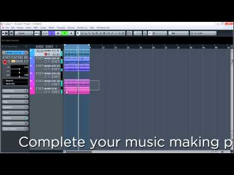 How to Make EDM – The EASY Way.. Using just Cubase or Ableton Tutorials and our Sample Pack!
