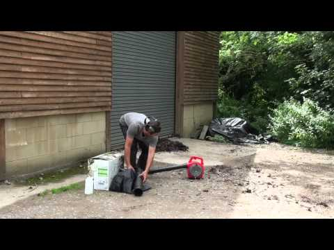 Mountfield Garden Blower Vac Review (видео)