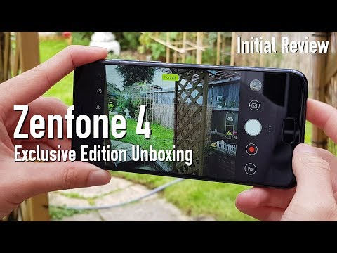 Asus Zenfone 4 Exclusive Edition Unboxing & Initial Review!