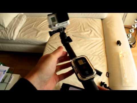 SP-Gadgets GoPro Remote Pole 39″ Unboxing und Test Deutsch