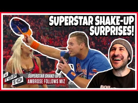 Reaction | Top 10 WWE Superstar Shake-up SURPRISES!!! | Raw, Smackdown & ECW