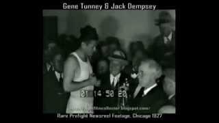Jack Dempsey&Gene Tunney 1927 | Weigh-In