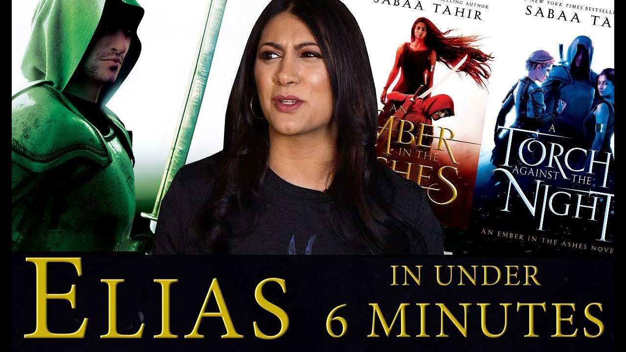 Can Sabaa Tahir Recap Elias' An Ember in the Ashes Journey in Under 6 Minutes?