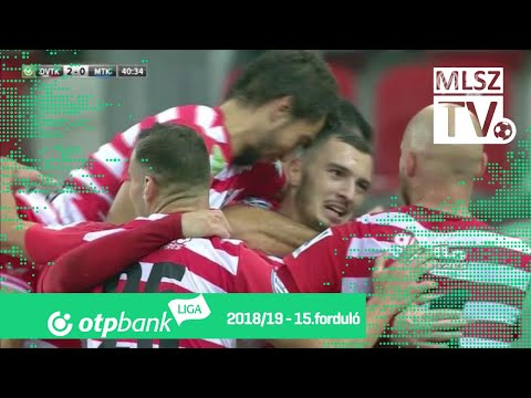 15. forduló: DVTK - MTK 3-2 (2-0)