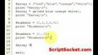 Perl Tutorial 7 - Array Tips